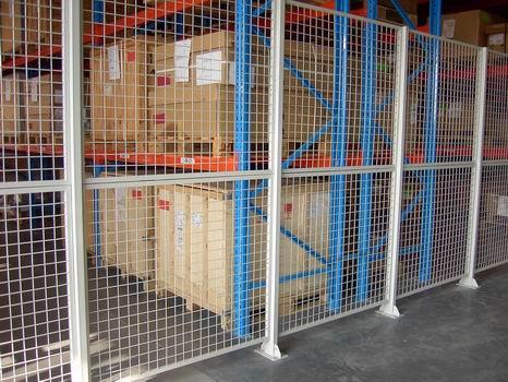 车间隔离网 仓库隔离网 车间隔断 非标工厂隔断