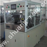 全自动包膜机(方形铝壳电池自动包内膜/包外膜