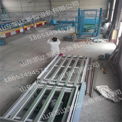 工艺先进抗拉能力强自动化玻镁板生产线主要用途功能