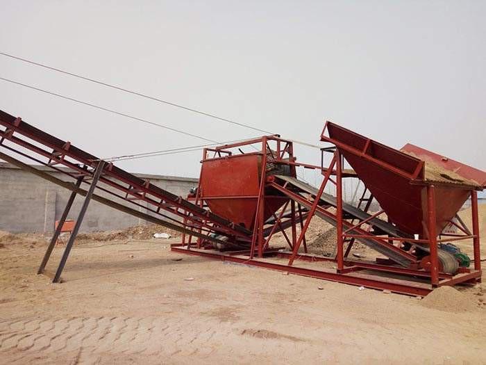 破碎洗砂机的操作流程