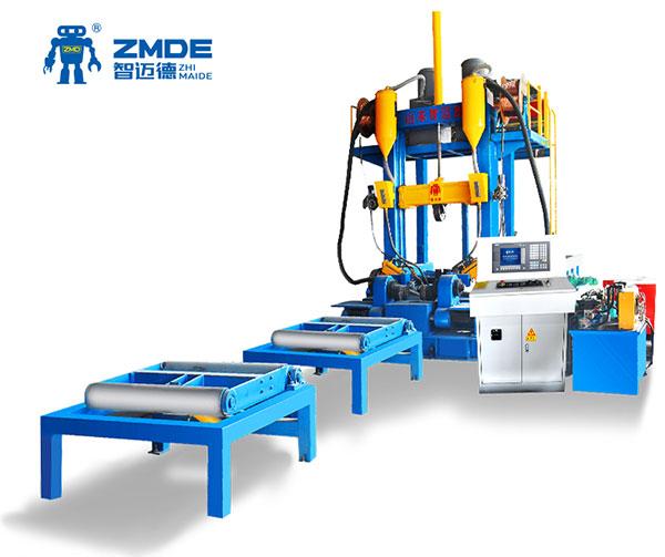 出售H型钢生产线,H型钢生产设备,H型钢组焊矫一体机