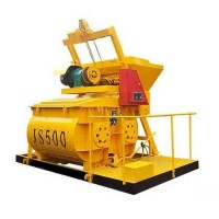 JS500混凝土搅拌机 生产效率高 搅拌均匀