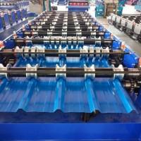 双层840-900现货彩钢压瓦机价格 全自动顶板机发往天津