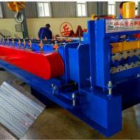 脚手架生产设备价格 400500两用钢跳板压瓦机现货厂家兴和
