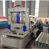 快速换型C型钢机现货厂家兴和 80-300无极剪切檩条机