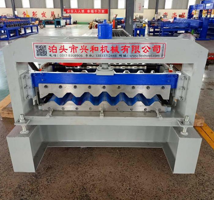 750墙面横挂板设备厂家兴和机械 全自动750压瓦机价格