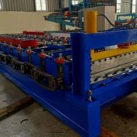集装箱车厢板侧板成型机 全自动1150车厢板压瓦机厂家兴和