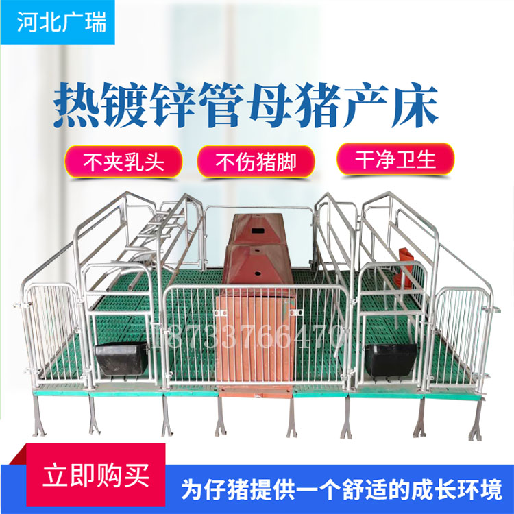 养猪场使用母猪产床有哪些好处?