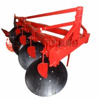 1LYZ-425禹城红日双斜拉杆圆盘犁  农用重型圆盘犁