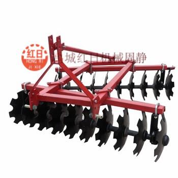 1BQX-1.9禹城红日轻型圆盘耙  拖拉机悬挂农用圆盘耙