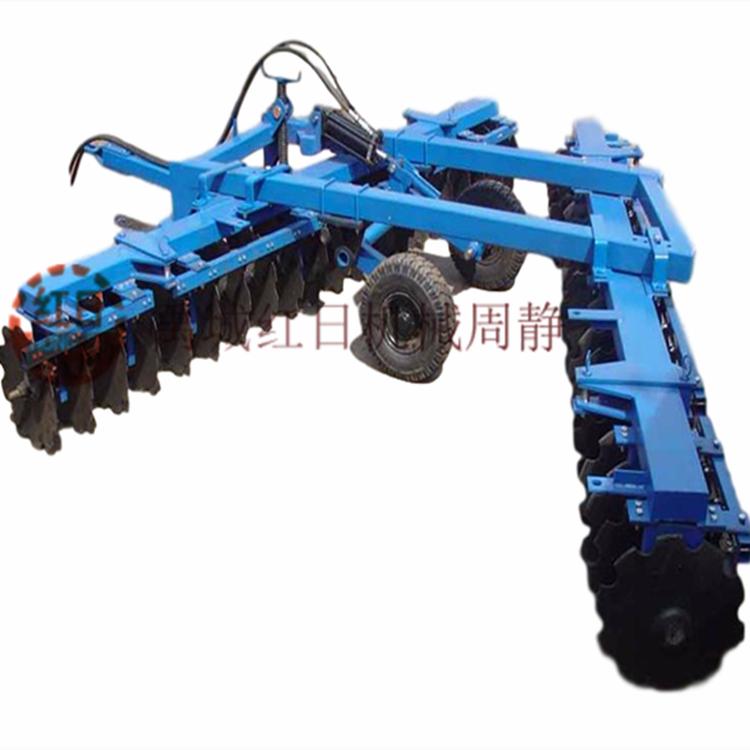 1BJ-4.4禹城红日液压缺口圆盘耙  农用中型圆盘耙