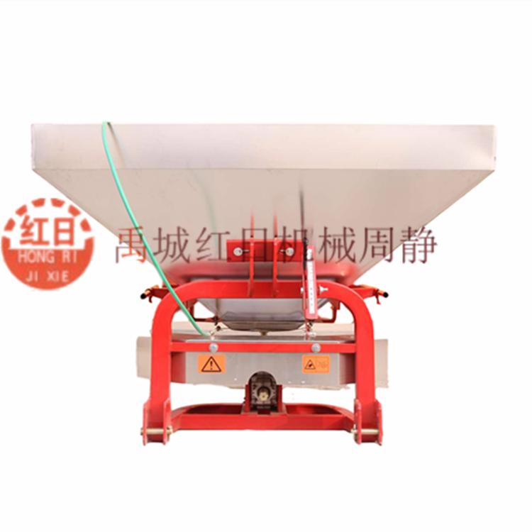 2FD-1000禹城红日双盘撒播机  农用不锈钢施肥机