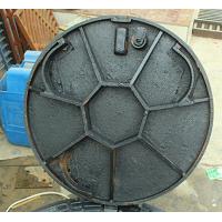 复合井盖的防盗特性