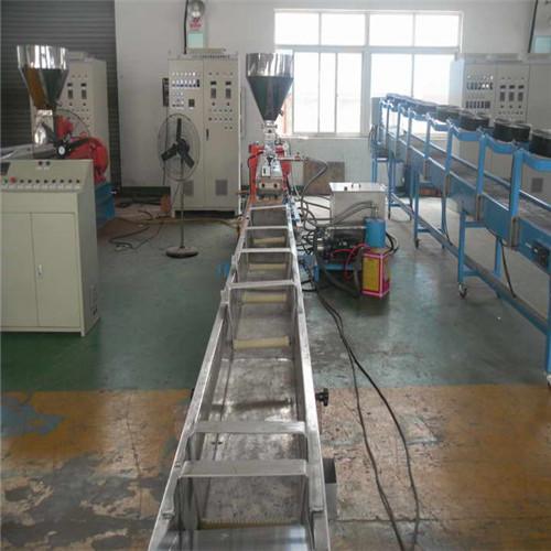 PP熔喷料造粒机,PP改性塑料造粒机
