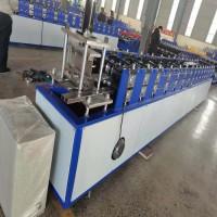 兴和冷弯成型厂家定做止水鱼鳞网片成型机