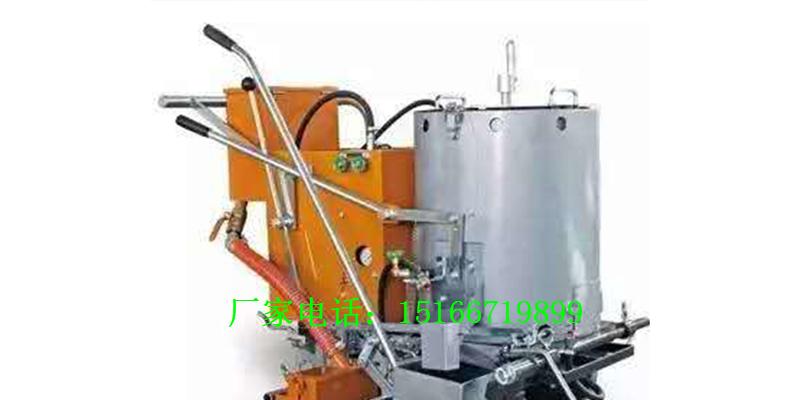 单缸热熔釜划线机全自动热熔划线机报价车载热熔划线机