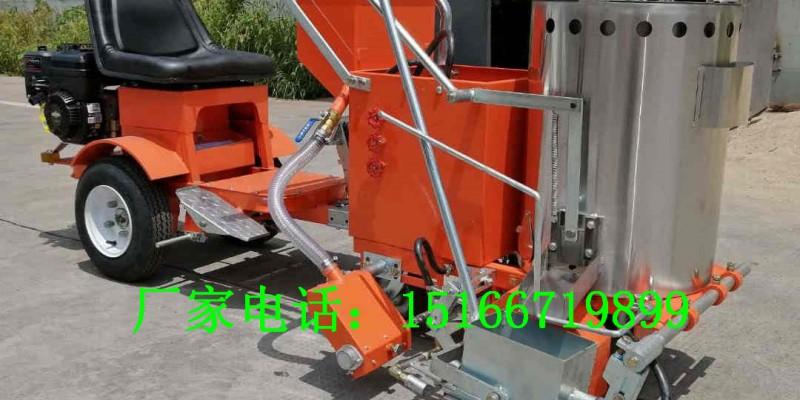 带助力车的划线机标线机高速公路画线机工程量大的就用热熔釜