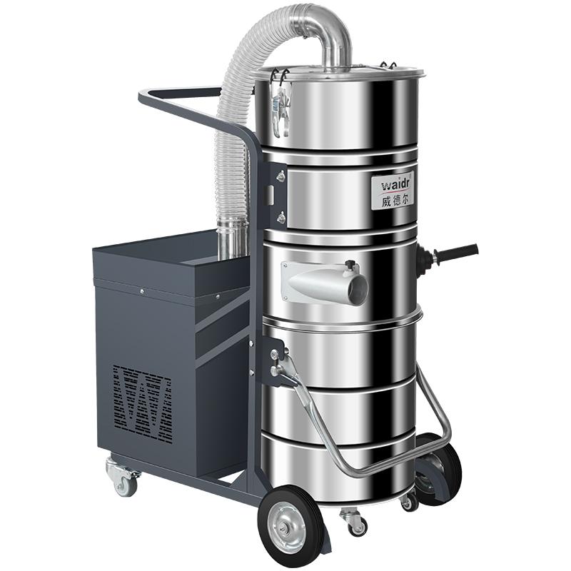 干湿两用工业吸尘器WX-2210FB不锈钢材质手动振尘杆