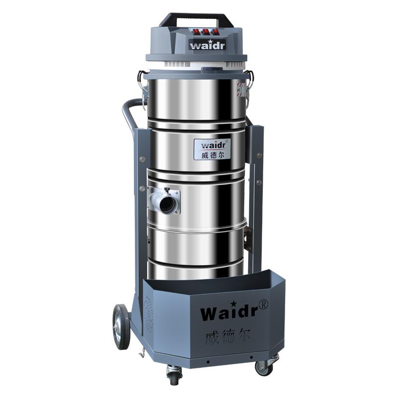 工厂加工车间用威德尔WX-3610吸粉尘颗粒带旋风分离器