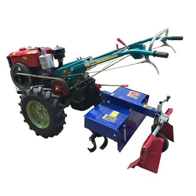 手扶车带葡萄埋藤机 果园耕地犁地翻土机 后悬挂葡萄埋藤机