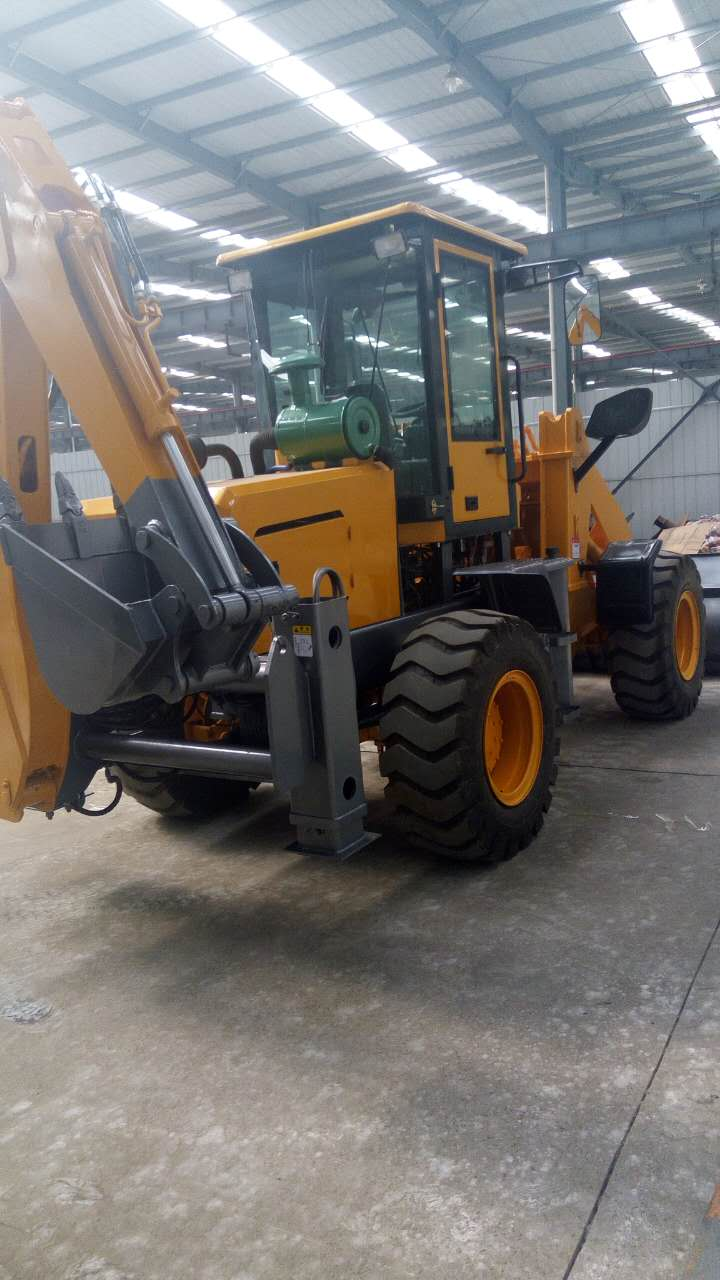 厂家直销小型两头忙挖掘装载机 耐用的两头忙