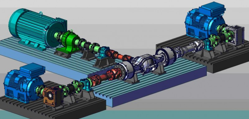 主减速器差速器总成试验系统参数