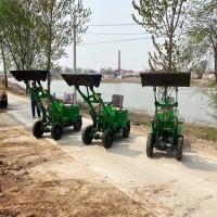 农用电动装载机 小型电动铲雪机 纯电动推土机
