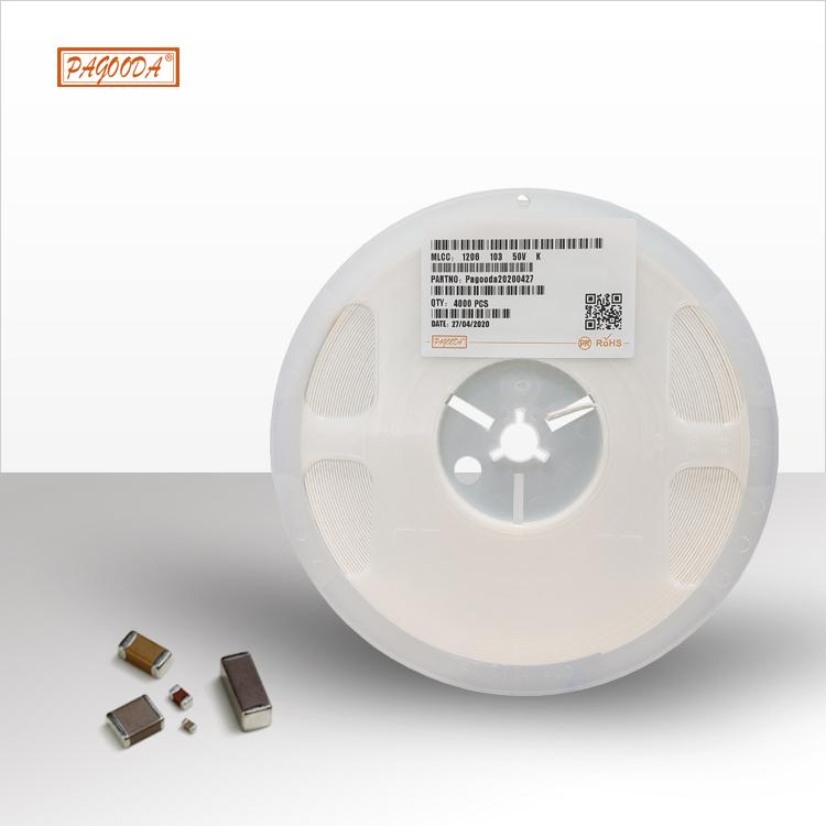 陶瓷贴片电容0402 0603 5 100UF 厂家直销