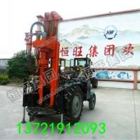 农用拖拉机式打井机