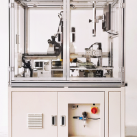 苏州欧可达全自动四色六色八色伺服电动圆盘式移印机