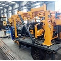 三轮车载水井钻机 岩芯钻机 勘察钻机
