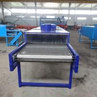 单层网带烘干机 玻璃制品干燥设备
