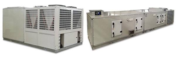 屋顶式空调机组直膨组合式净化空调机组保定跃鑫冷暖设备