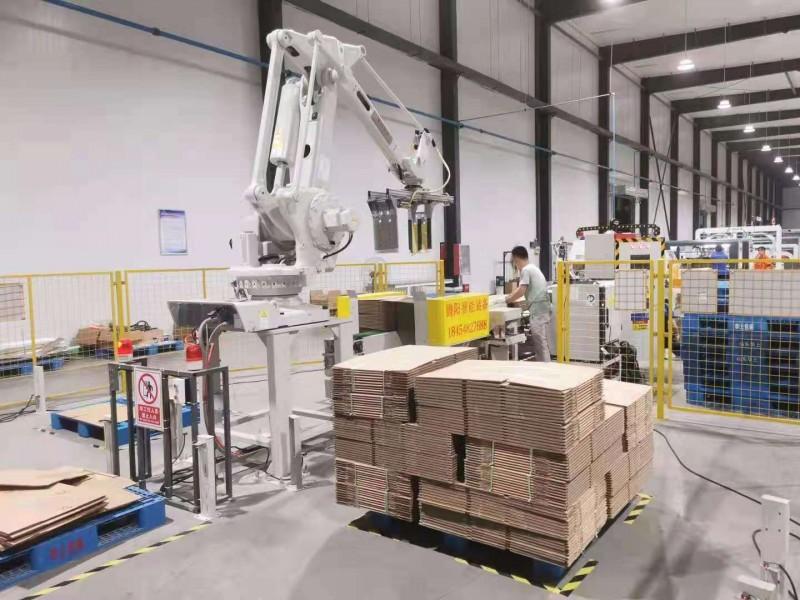 码垛机器人的出现给企业带来了可观效益