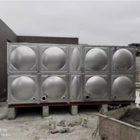 庆阳装配式不锈钢水箱兰州不锈钢水箱壹水务公司